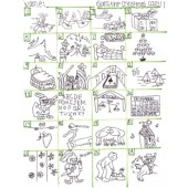 Guess The Christmas Carol Brain Teaser pictogram