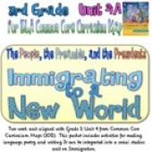 CC Curriculum Map Unit 4A, Third Grade, Immigrating to a New World