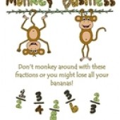 Comparing Fractions is Monkey Business! Game