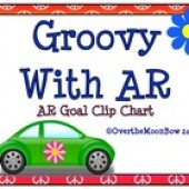 Groovy With AR ~ Reading Goal Clip Chart