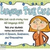 Language Skills Task Cards