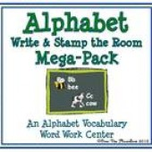 Alphabet Mega-Pack Write / Stamp the Room Activity Pack