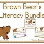 Brown Bear Literacy Bundle
