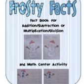 Frosty Facts for addition and multiplication