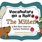 The Mitten - Vocabulary On a Roll