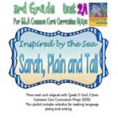 CC Curriculum Map Unit 2A, Third Grade, Sarah Plain and Tall Inspired by the Sea