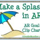 Make a Splash in AR! AR Goal Clip Chart