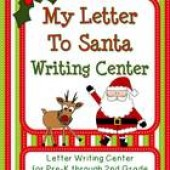 My Letter to Santa Writing Center