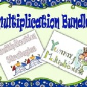 Multiplication Bundle; Strategies and Fact Mastery for 2nd and 3rd grade