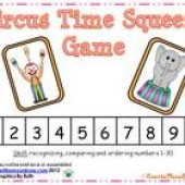Circus Time Squeeze Number Game