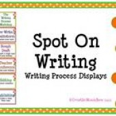 Spot On Writing - Writing Process Displays