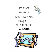 STEM projects MEGA pack of 50 science project learning labs