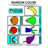 Rainbow Colors English