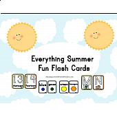 Everything Summer Fun Flash Cards