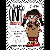 Math Unit Assessments-Common Core Aligned (5th Grade) BUNDLE