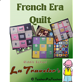 LOUISIANA - French Era Quilt Project