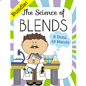 The Science of Blends BUNDLE, 8 units with 19 different blends