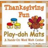 Thanksgiving Fun Playdoh Mats