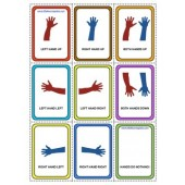 little learning labs - hand directions card game set for following directions