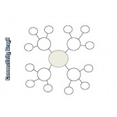Graphic Organizers Set of 20 - Venn, cluster, pyramid, and more