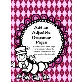 Add an Adjective Grammar Pages