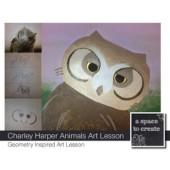 Art Lesson: Charley Harper Animals