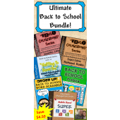 Ultimate Back to School Bundle