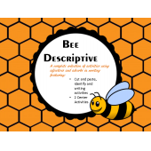 Bee Descriptive Adjectives and Adverbs