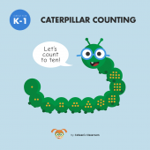 Caterpillar Counting Game