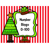 Christmas Number Bingo