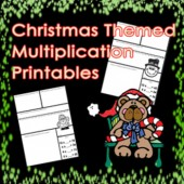 Christmas Multiplication Math Printables