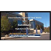 Substitute Teacher Classroom Management that Works for High School