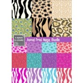 Clip Art: Animal Print Background Bundle for commercial use