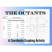 The Octants - 3 Intersecting Planes - Coordinate Graphing Activity