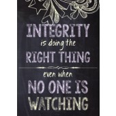 Integrity Classroom Poster