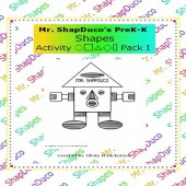 Mr. ShapDuco PreK - K Shapes Activity Pack 1