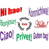 6 Multilingual Class Signs - Greetings, Courtesies & I Love You