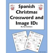 Spanish Christmas Crossword Worksheet - Navidad