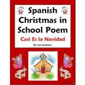 Spanish Christmas in School Poem - Casi Es la Navidad