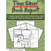 Time Saver Non-Fiction Book Report Project