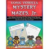 Long Vowel Mystery Mazes, Jr.