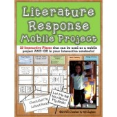 Literature Response Mobile Project {Optional Interactive Notebook Use}