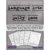 Language Arts Daily Dose {Weeks 13-16}