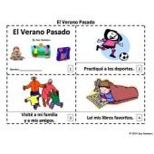 Spanish Last Summer 2 Emergent Reader Booklets - El Verano Pasado