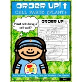 Order Up! Cell Parts {Plant} Set #1