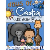 Days of Creation Cube Activity