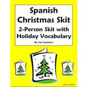 Spanish Christmas Skit / Speaking Activity / Role Play
