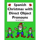 Spanish Christmas Vocabulary and Direct Object Pronouns Sentences