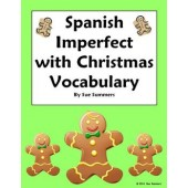 Spanish Christmas Imperfect Sentences & Conjugations