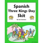 Spanish Three Kings Day Skit - Speaking Activity - Christmas/Navidad